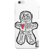 Spooky Gingerbread  iPhone Case/Skin