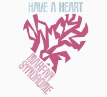 Have a Heart For Marfan Syndrome One Piece - Short Sleeve