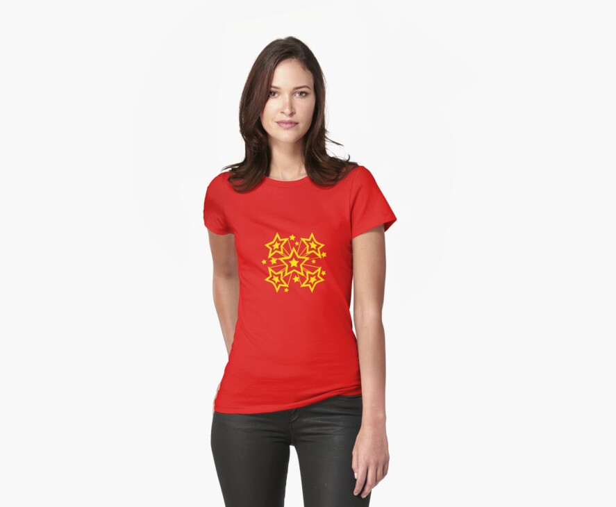 EXPLODING STARS by Awesome Rave T-Shirts