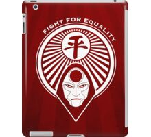 Fight for Equality with Amon iPad Case/Skin