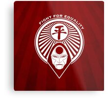 Fight for Equality with Amon Metal Print