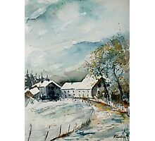 watercolor sechery 1207 Photographic Print
