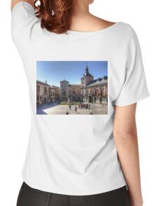 Plaza de la Villa, Madrid Women's Relaxed Fit T-Shirt