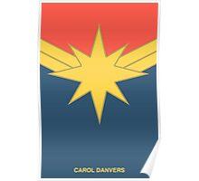 Captain Marvel: Carol Danvers Poster