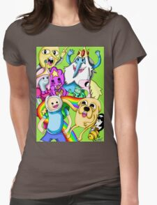 Adventure Time! Womens Fitted T-Shirt