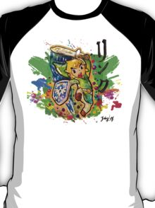Epic Link Streetart Tshirts + More ' Legend of Zelda ' Jonny2may T-Shirt