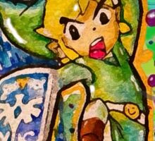 Epic Link Streetart Tshirts + More ' Legend of Zelda ' Jonny2may Sticker