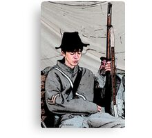 The New Corporal Canvas Print