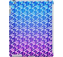 Penrose Cube Stack - Blue Purple iPad Case/Skin