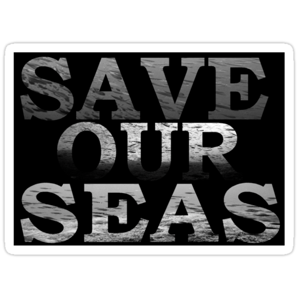 Save Our Seas\black and white by Marcus Grant IPA