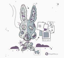Robot Bunny by DesignbySolo
