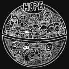 Hope for a Death Star Wars by techwiz