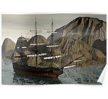 The Furled Ship Poster