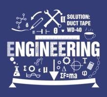 Engineering Engineer T-shirt by studiodopeness