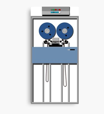 Mainframe Tape Drive Canvas Print