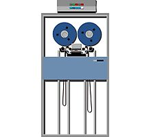 Mainframe Tape Drive Photographic Print