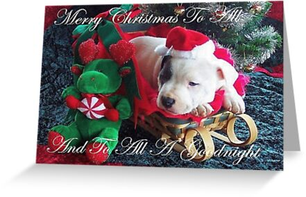 Merry Christmas To All by Ginny York