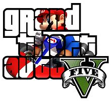 Grand Theft Auto V Mario Kart by BTick21
