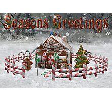 Seasons Greetings Photographic Print