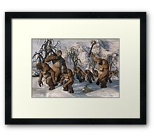 Moving Onward Framed Print