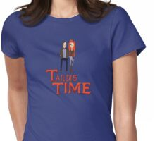 Tardis Time Womens Fitted T-Shirt