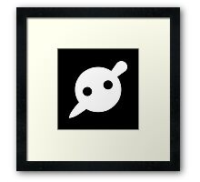 Knife Party Logo Framed Print