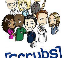 Scrubs Cartoon by zittano