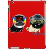 daft pugs iPad Case/Skin