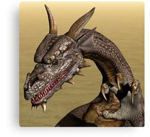 Playful Dragon Canvas Print