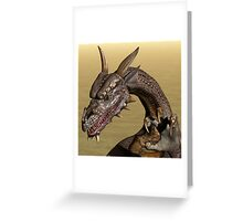 Playful Dragon Greeting Card