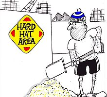 hard hat by adey  bryant