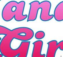 Candy Girl Sticker