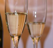 Champagne glasses by PCDC