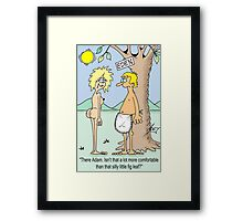 apron and eve Framed Print