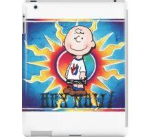 Hey Now!!! Charlie Brown iPad Case/Skin