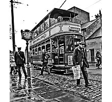Last Tram From Crich  Photographic Print