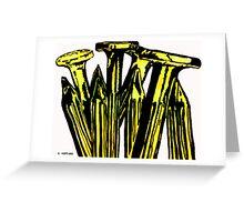 Nails Greeting Card