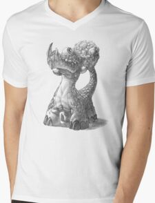 The Rocktail Cyclodile Mens V-Neck T-Shirt