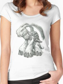 The Malaysian Rabbit-Eared Tortoise Women's Fitted Scoop T-Shirt