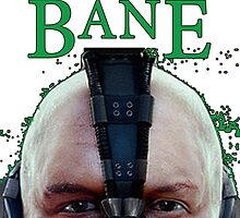 Bane - Front PC Sticker by KyleAdkins