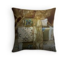 Christmas Gifting Throw Pillow