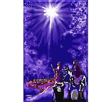 Bethlehem in Blue Photographic Print