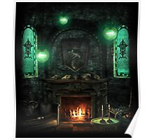 Slytherin Common Room Poster