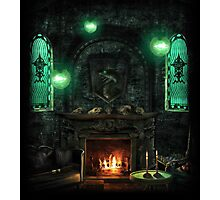 Slytherin Common Room Photographic Print