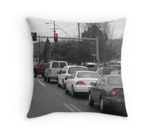 A Moment in Traffic Throw Pillow