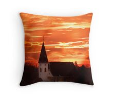heaven and hell? Throw Pillow
