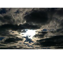 Silver Skies Photographic Print