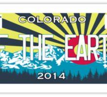 Colorado Denver Of the Earth Sticker