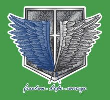Freedom, hope & courage by MareveDesign