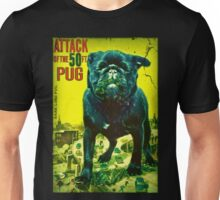 50 ft pug Unisex T-Shirt